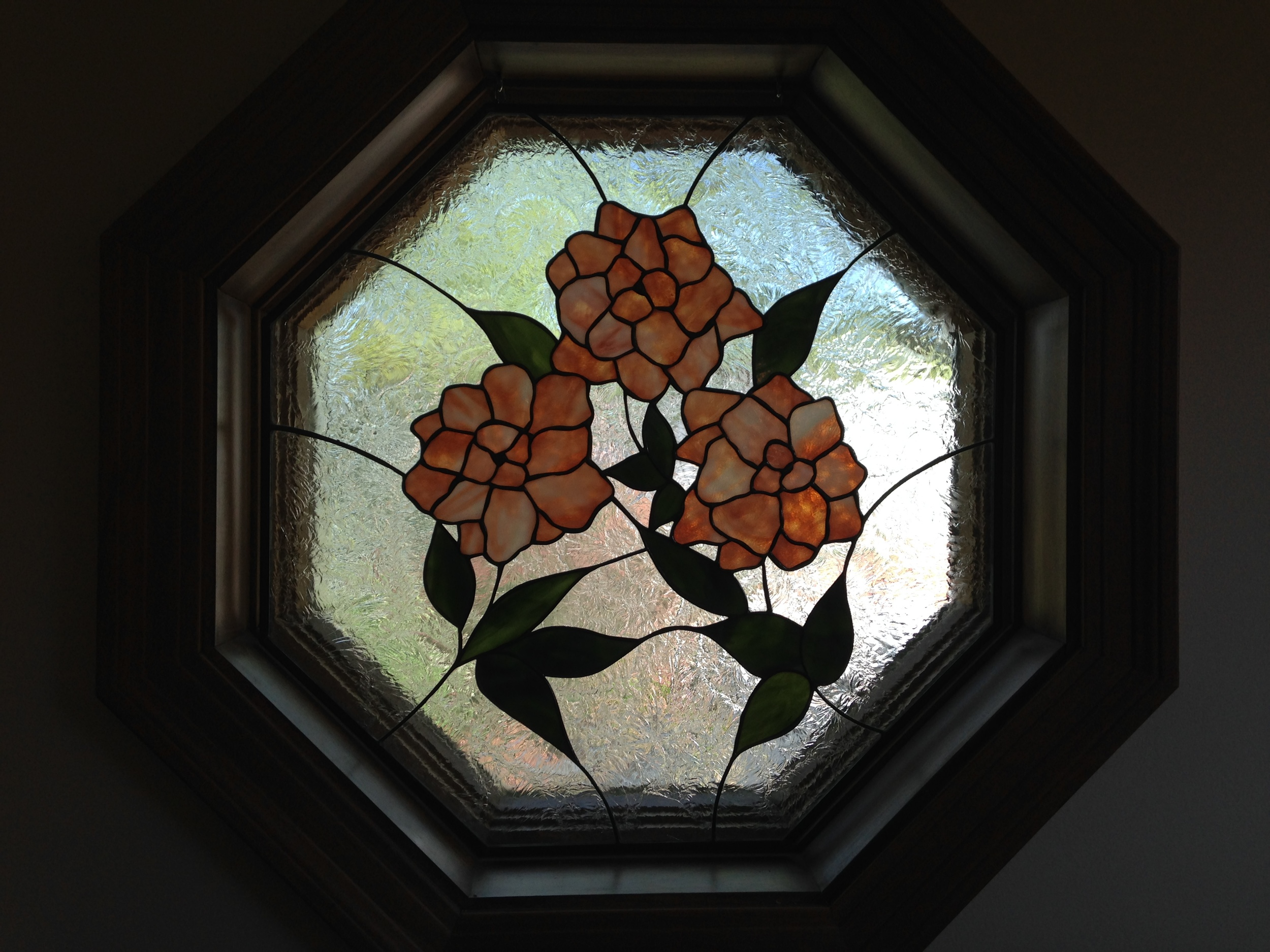 Floral Octagon