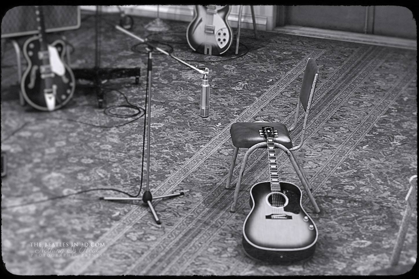 ABBEY RD STUDIO #2 - RUBBER SOUL SESSIONS OCTOBER 1965