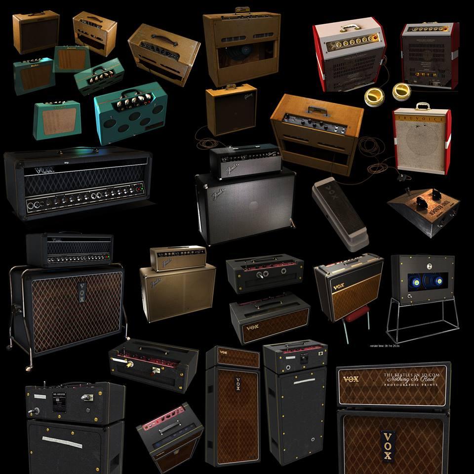 Beatle guitar amplifiers 1960 - 1970