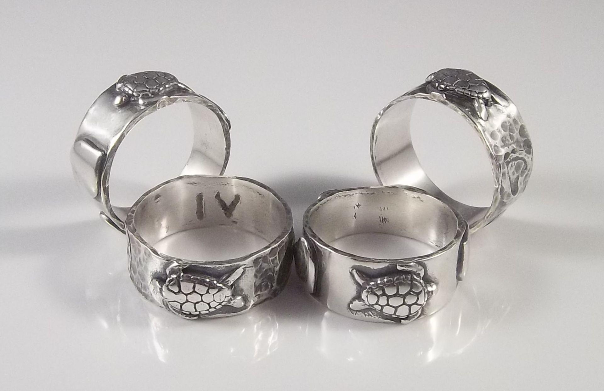 Pem Bryant Turtle Love Silver Rings set.jpg