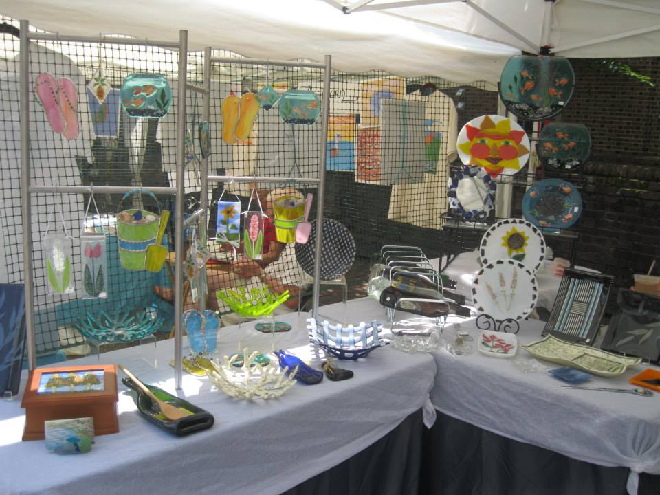 Sharon Dombrowski Booth July 2015.jpg