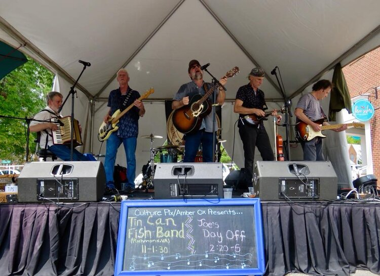 Tin Can Fish Band on Amber Ox main Stage at Sept 9 2018 2nd Sundays.jpg