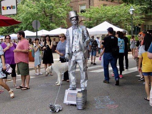 Silverman in Street on box background  people in Shorts.jpg