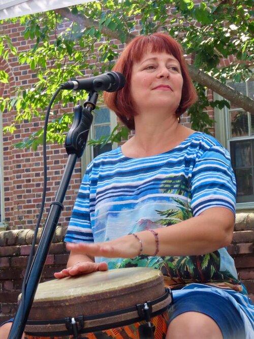 Pamela Jo Sward at 2nd Sundays Aug 2019.jpg