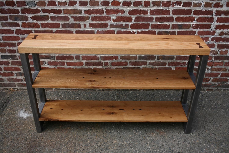 Custom shelving unit for Java City - 5' long x 4' tall x 1' wide