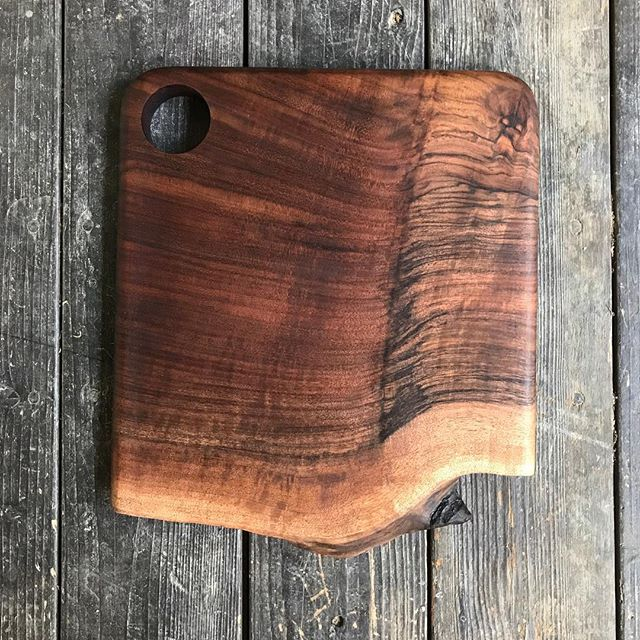 Only two live edge cutting boards left in our online store! Grab them before the holiday rush!
