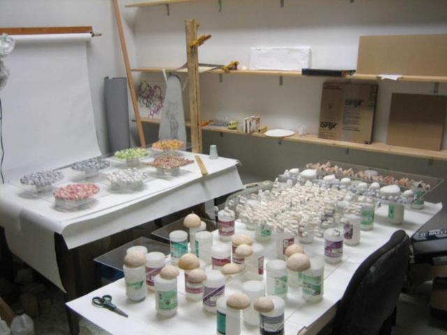 Ceramic and acrylic process