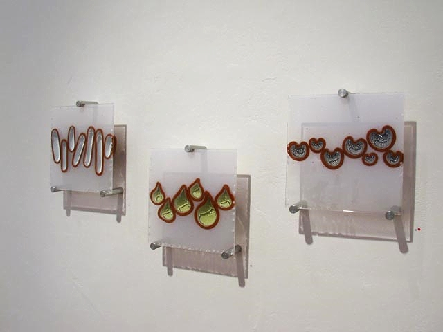 Bulb Studies (White, Green Gray), 2011