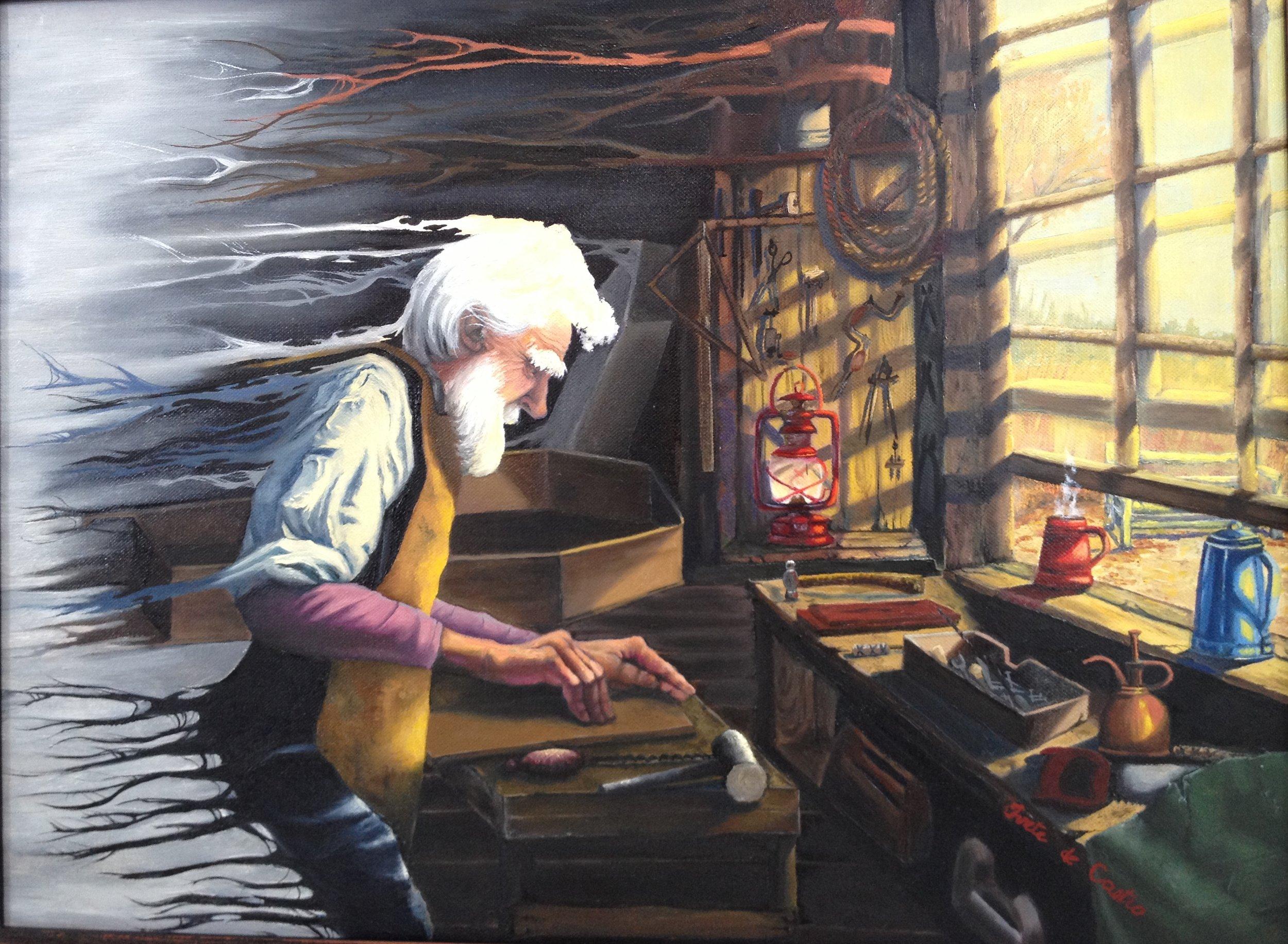 Poet & Artist Collaboration (oil on canvas).JPG