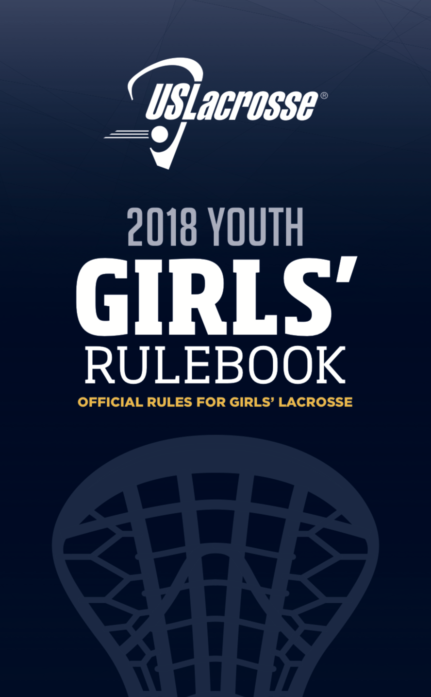Rulebook for Girls Youth Lacrosse