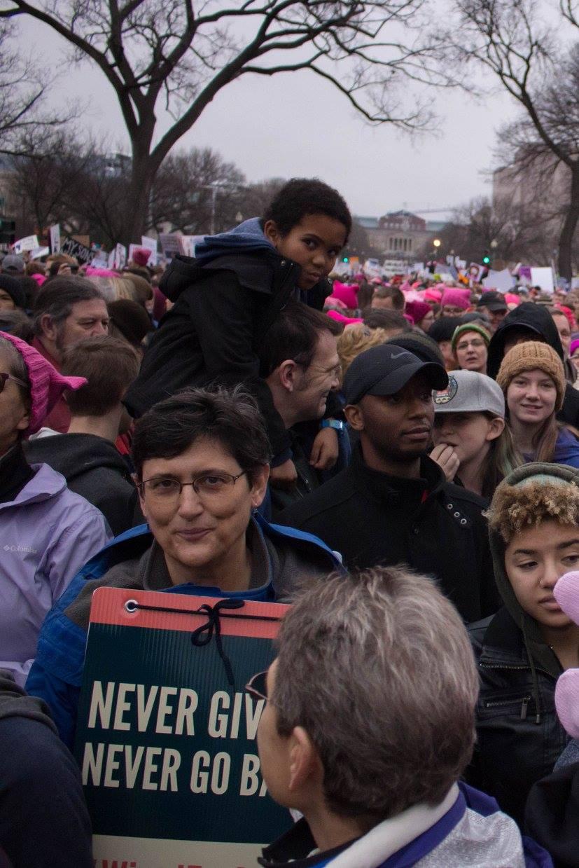 Women's March in DC, 2016