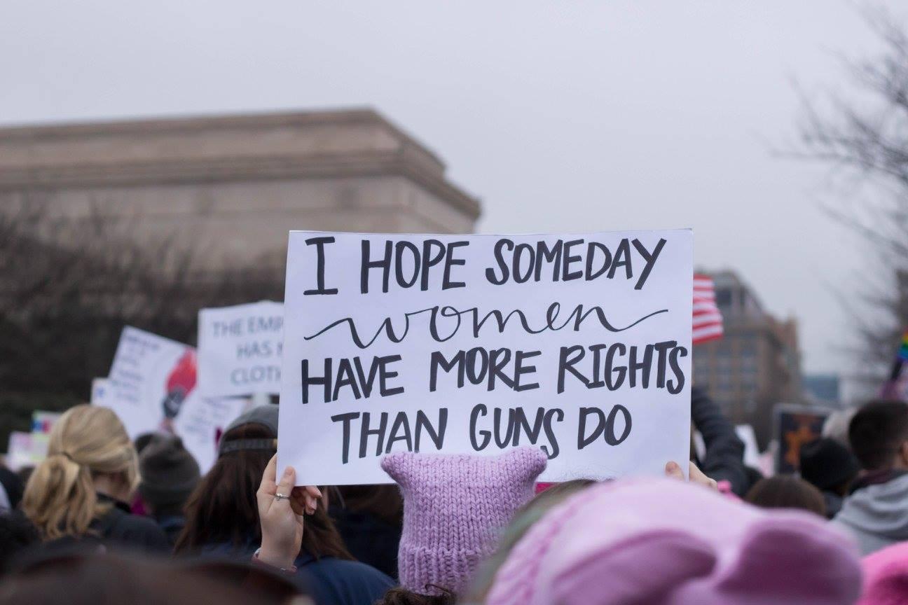 Women's March in DC, 2017
