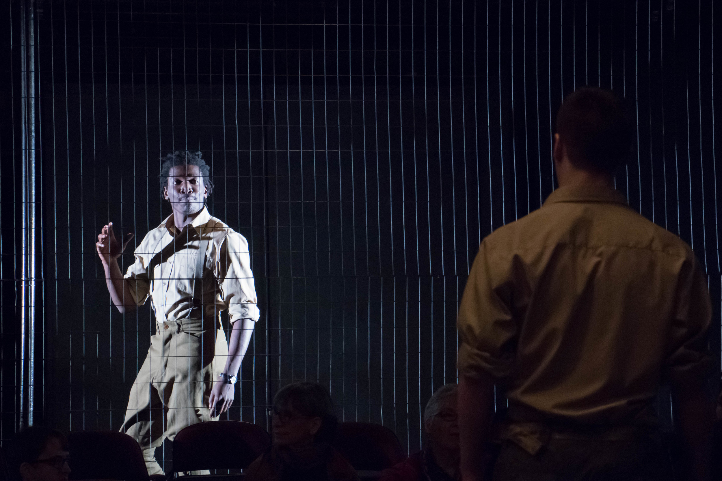 teven Lee Johnson And James Udom In OTHELLO, 2017