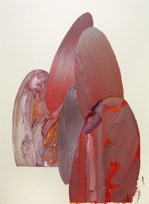 """Tarp, 2015, oil on canvas, 55"""" x 74""""."""