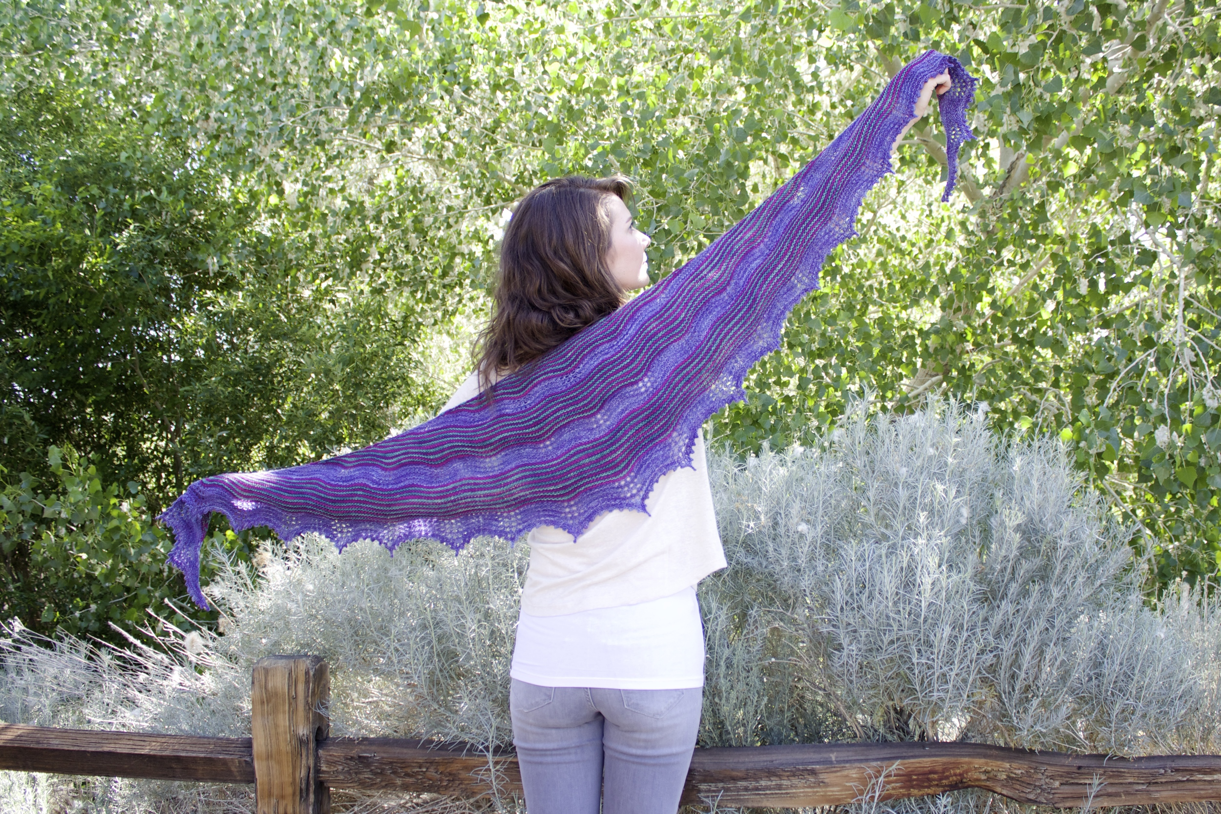 Ripple Effect Shawl