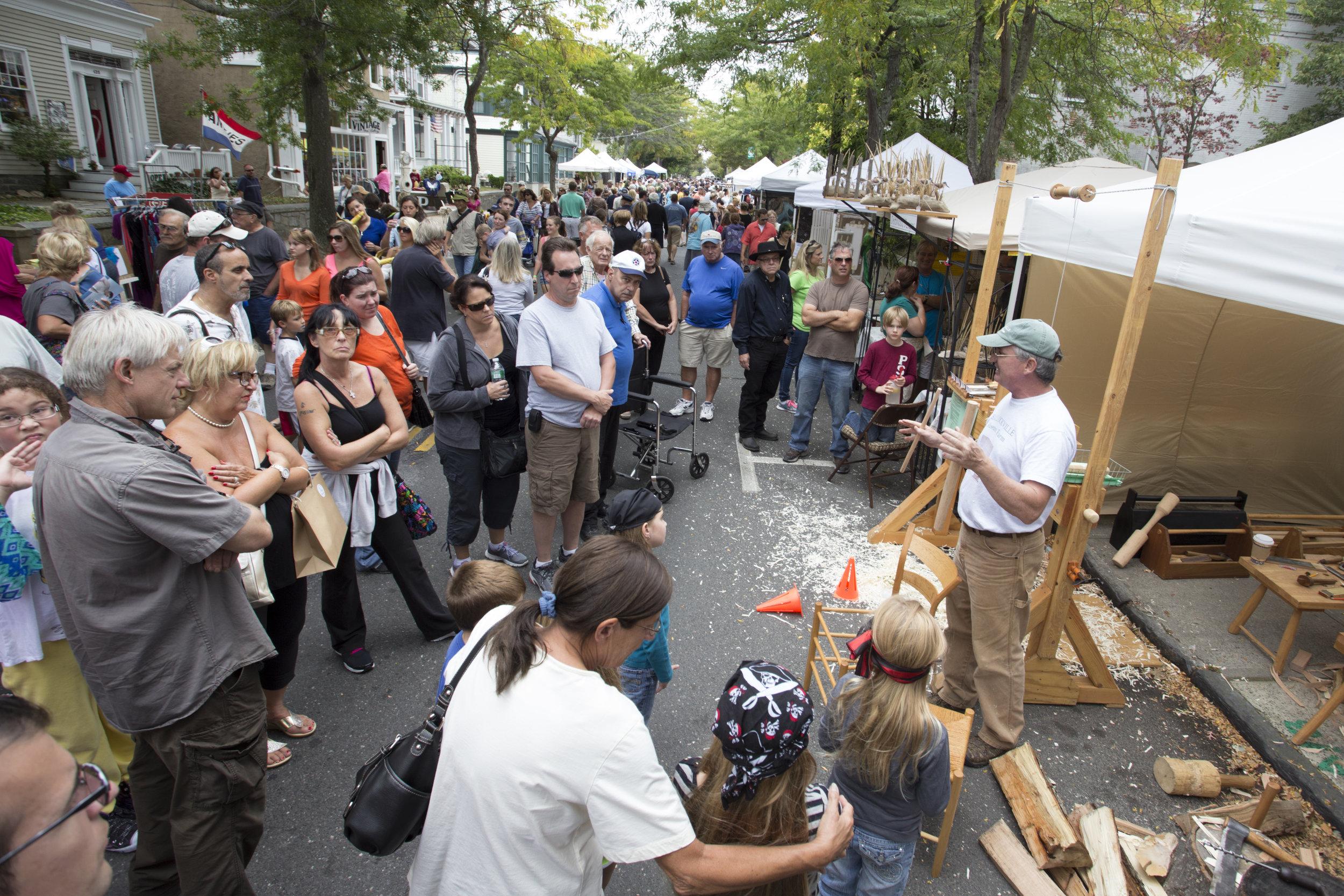 woodworking at Festival_Suffolk Times photo by Katharine Schroeder.jpg