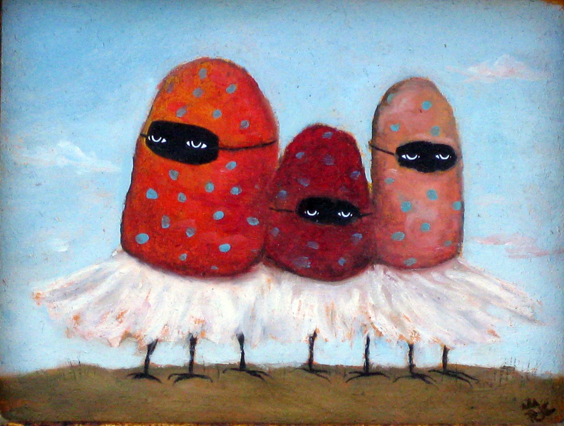 The Strawberry Ballerina Bandits