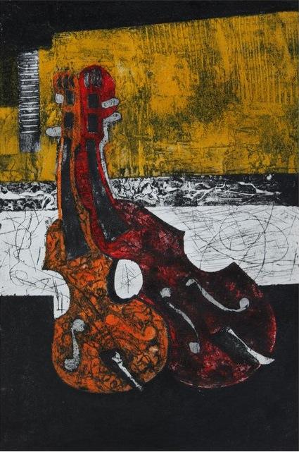 """""""violin 1"""" collagraph  (CC)  by  alitii"""