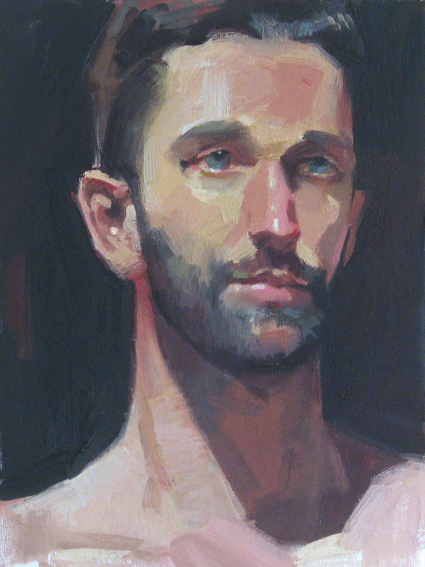 Deep Blue Gaze 9x12.JPG