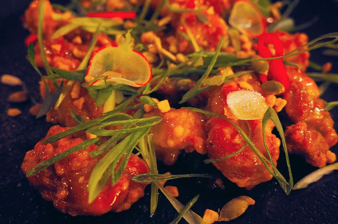 Suda Korean Bistro Melbourne CBD Review - Korean Fried Chicken Closeup