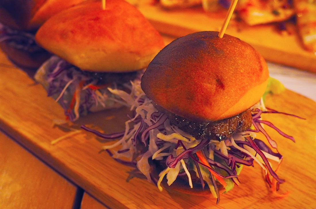 Suda Korean Bistro Melbourne CBD Review - Meatball BBQ Slider