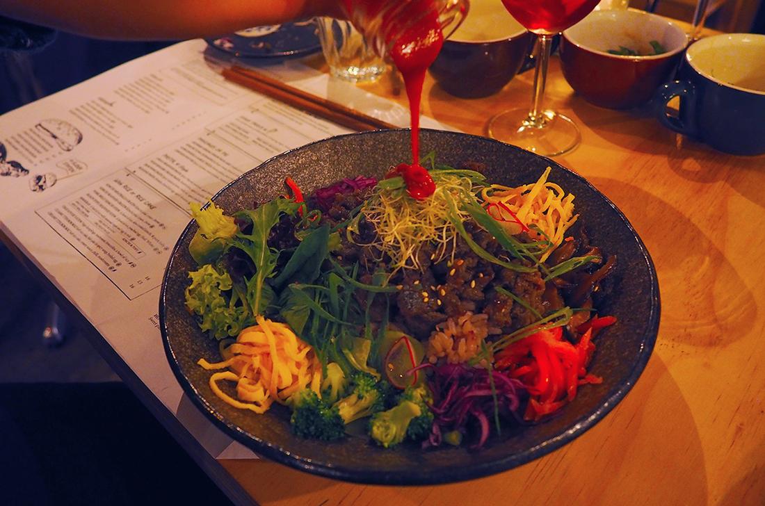 Suda Korean Bistro Melbourne CBD Review - Beef Bulgogi Bibimbap