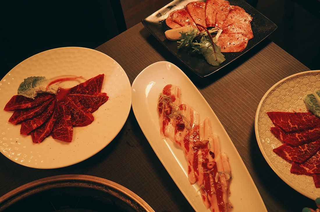 Wagyu Ya Japanese Restaurant South Yarra Toorak Review - Chargrill Wagyu Spread