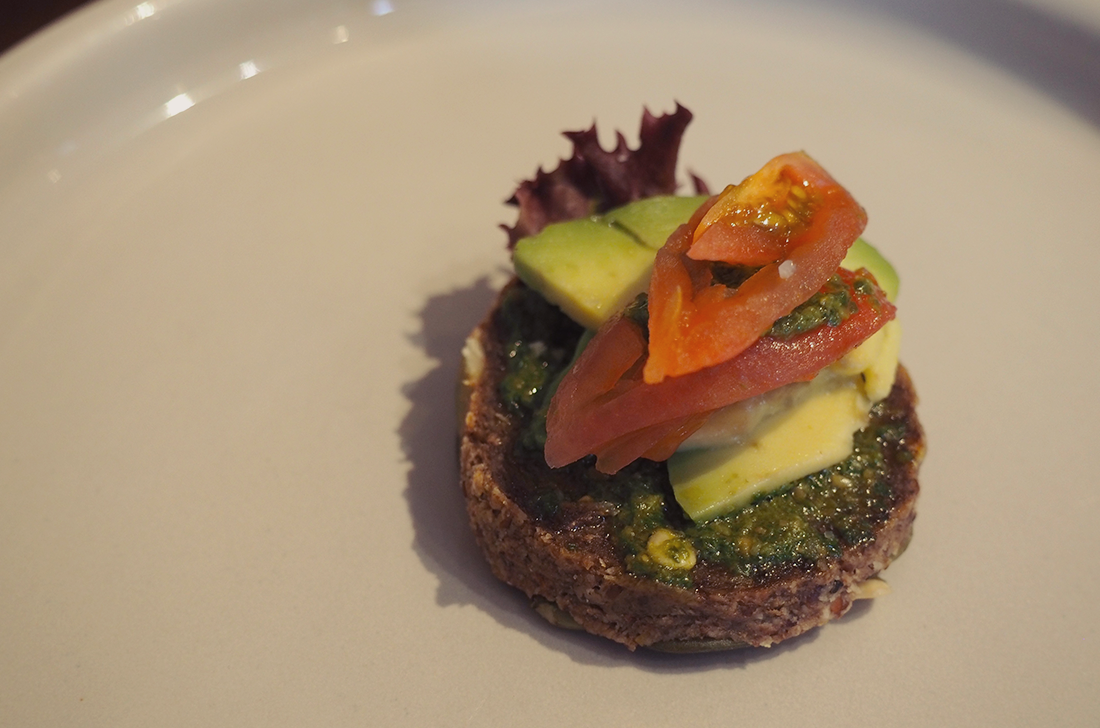 Yardmill Kitchen and Grocery Raw Vegan High Tea Blog Review - crostini 3
