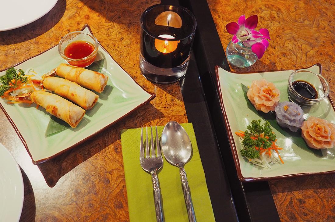 Palm Sugar Royal Thai Richmond Blog Review - spread