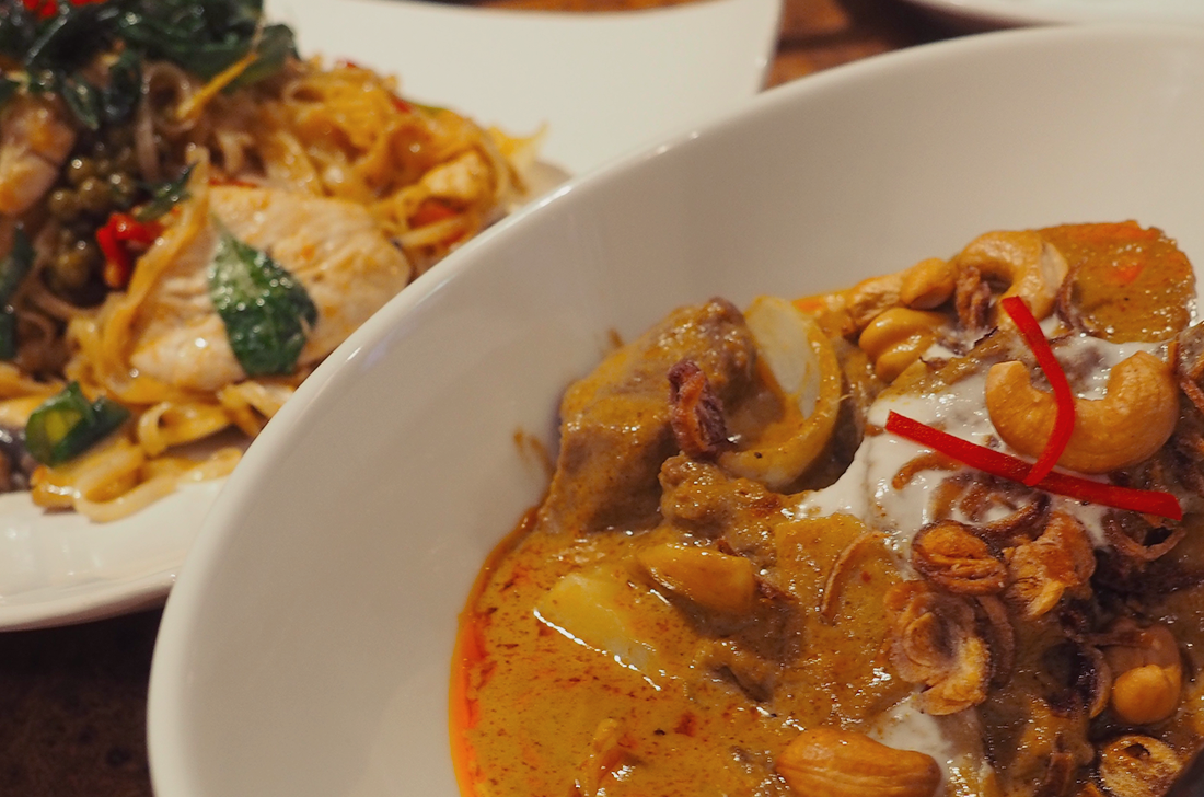 Palm Sugar Royal Thai Richmond Blog Review massaman curry2