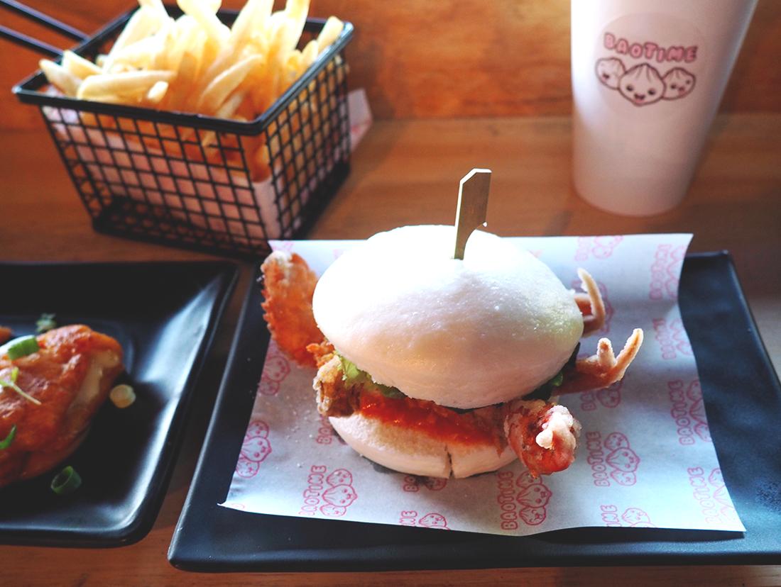 Baotime Blog Review Richmond Baogers - Soft Shell Crab Baoger