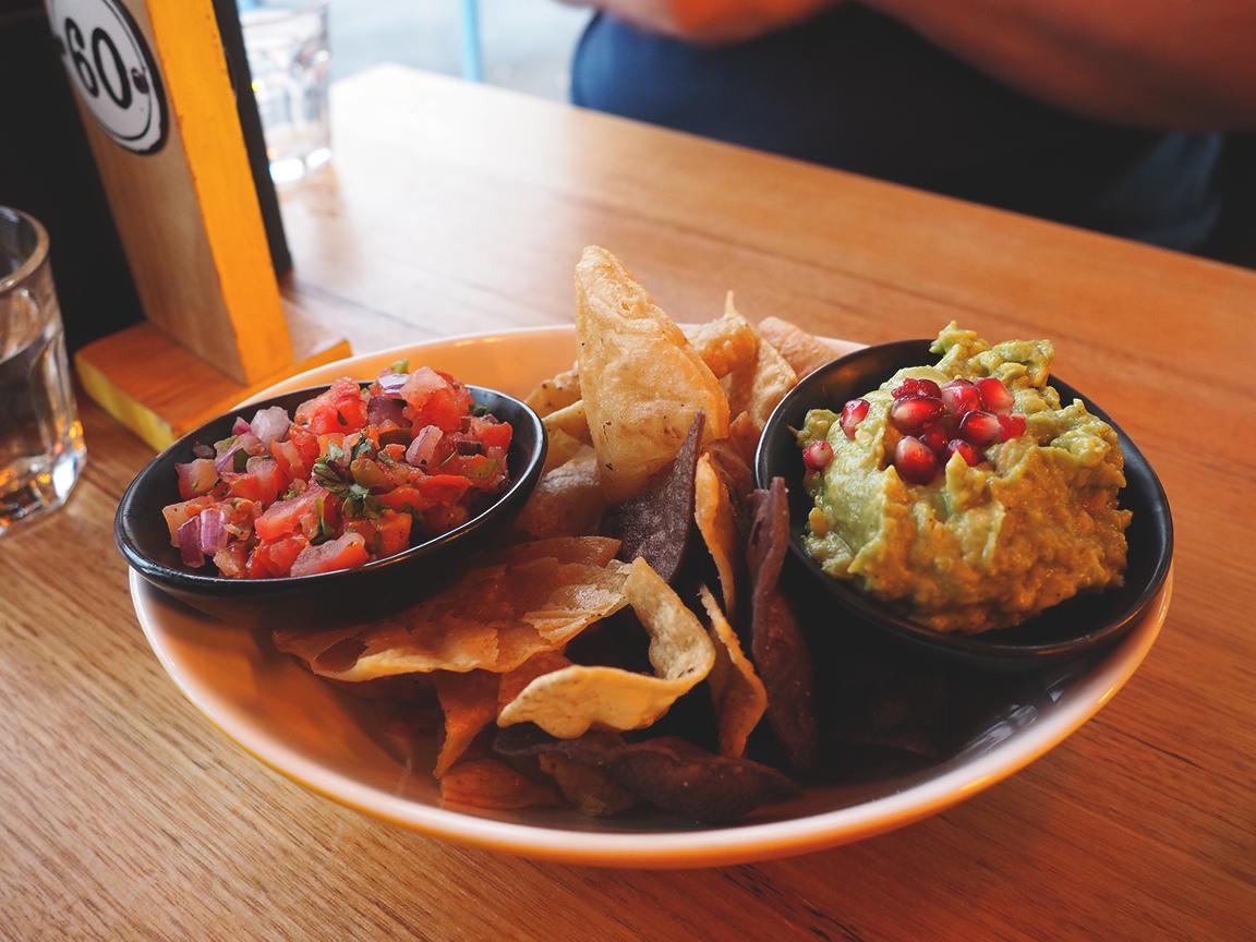 Fonda Mexican Hawthorn Blog Review - tortilla crisps