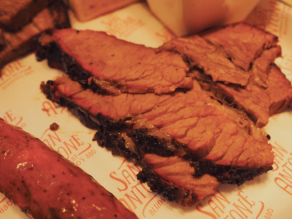 San Antone by Bludso's BBQ - Blog Review Beef Brisket