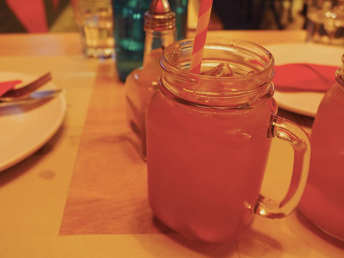 San Antone by Bludso's BBQ - Blog Review House Made Peach Iced Tea