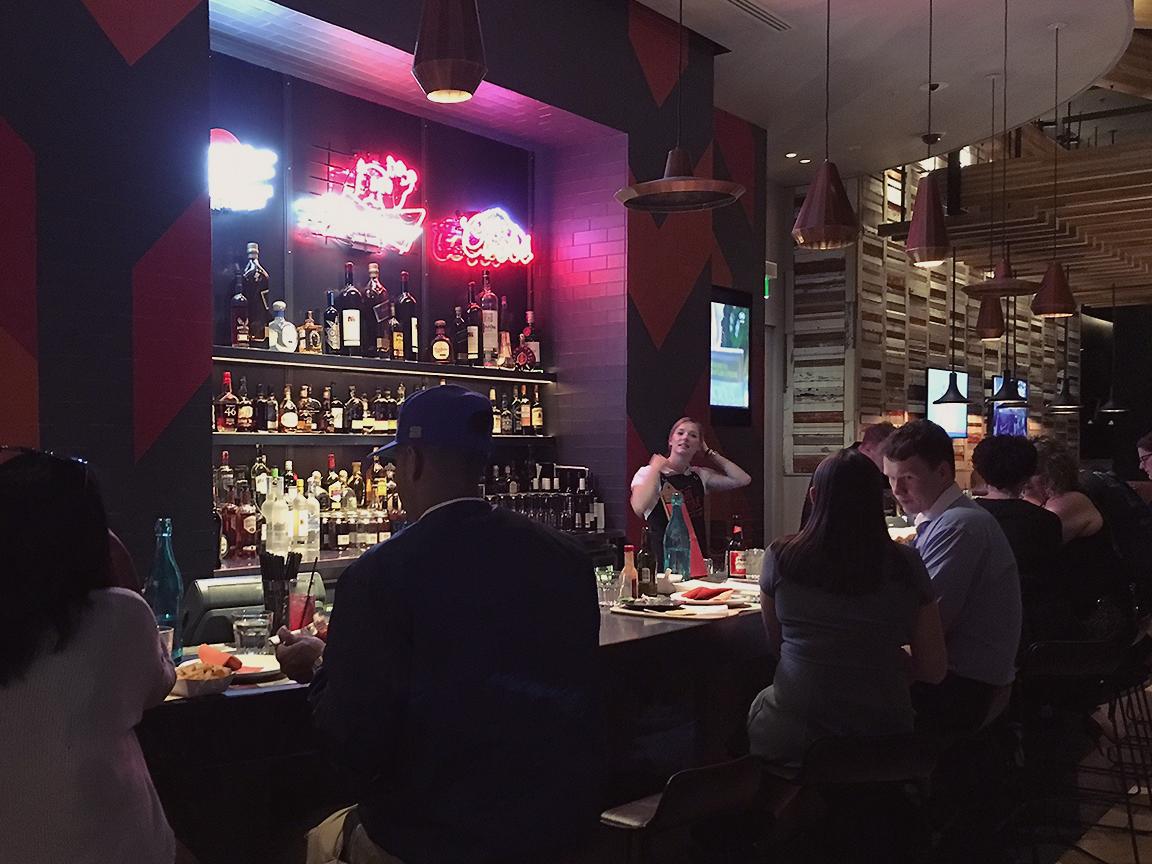 San Antone by Bludso's BBQ - Blog Review bar