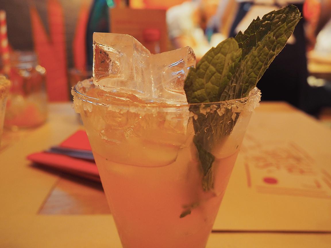San Antone by Bludso's BBQ - Blog Review watermelon margarita