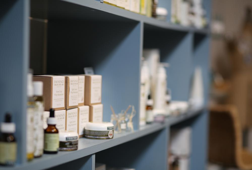 product on shelf