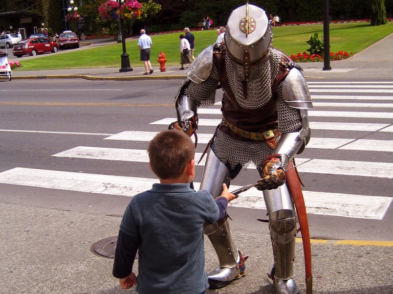 #43: BECOME A KNIGHT FOR A DAY
