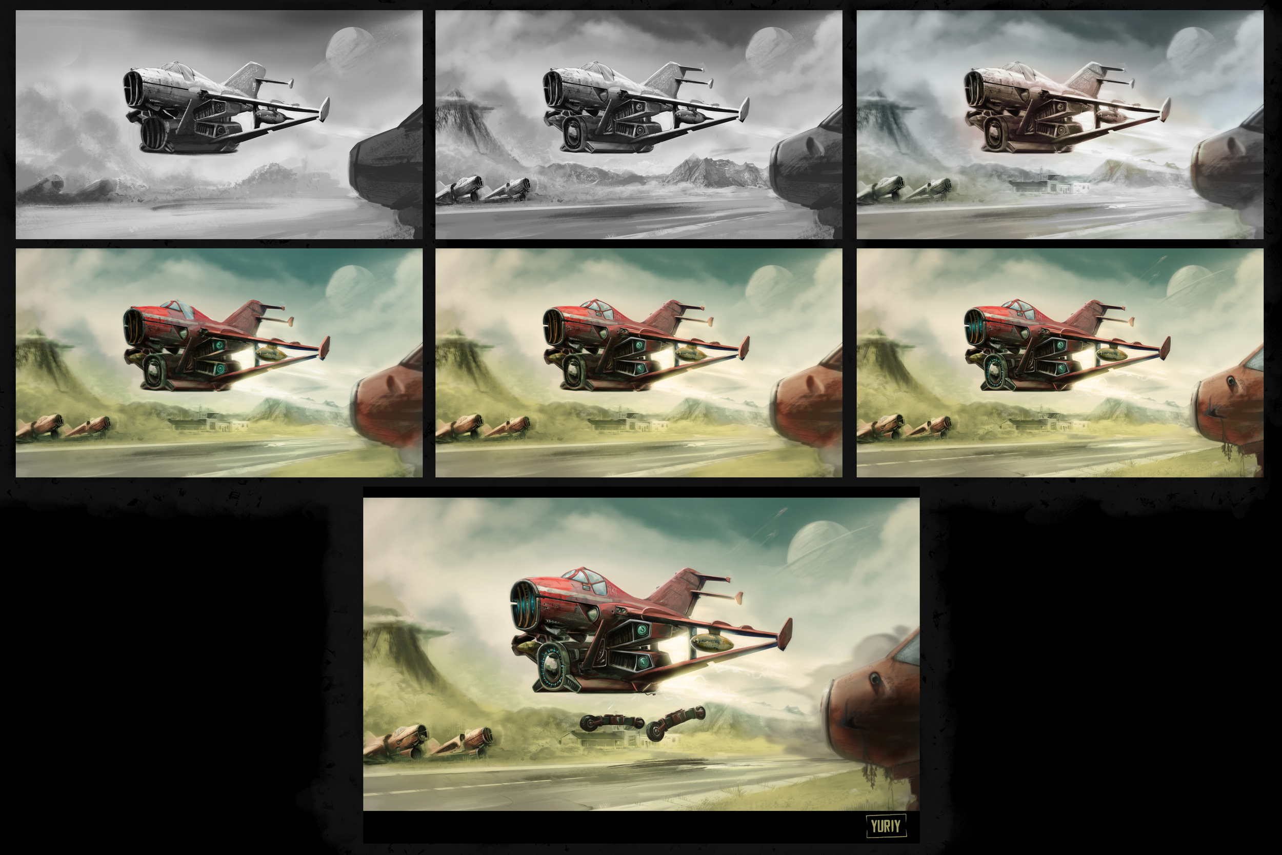 Rocket-Powered Aircraft - Stages of Development