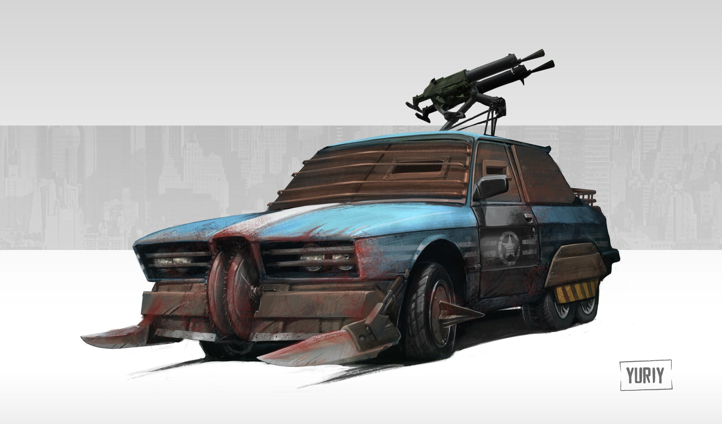 Apocaliptic Vehicle Design
