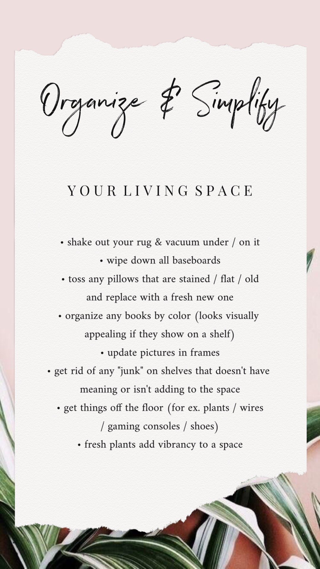 Bre Sheppard - How To Simplify & Organize Your Home - Your Living Space.JPG