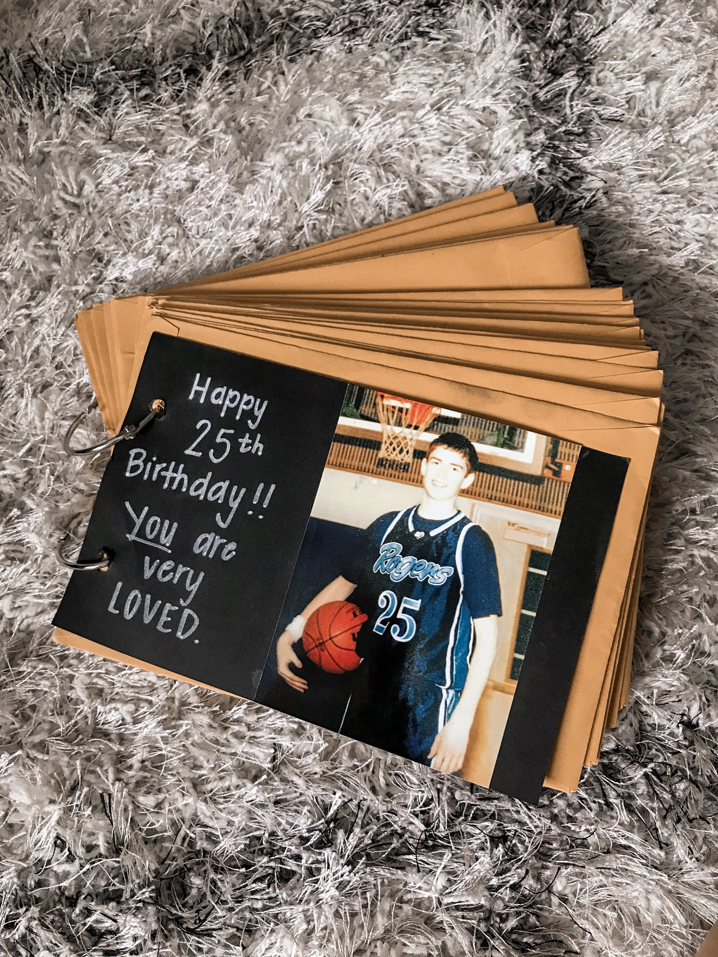 Bre Sheppard Thoughtful Gift Giving Ideas : Valentine's Day - Happy Birthday Book.JPG