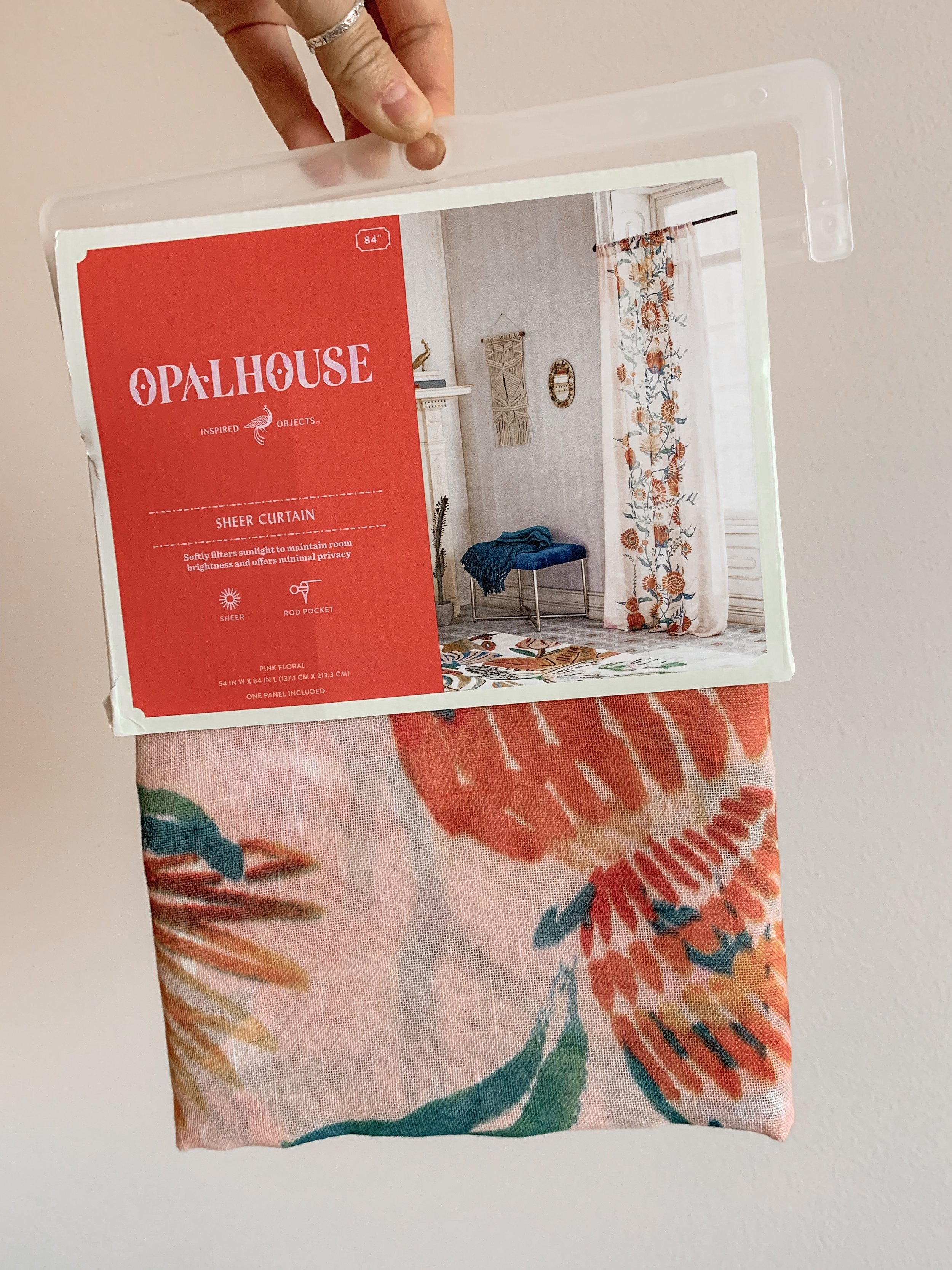 Bre Sheppard - Apartment Hack - Hanging Curtains Without Damaging Your Walls : Target Curtains.JPG