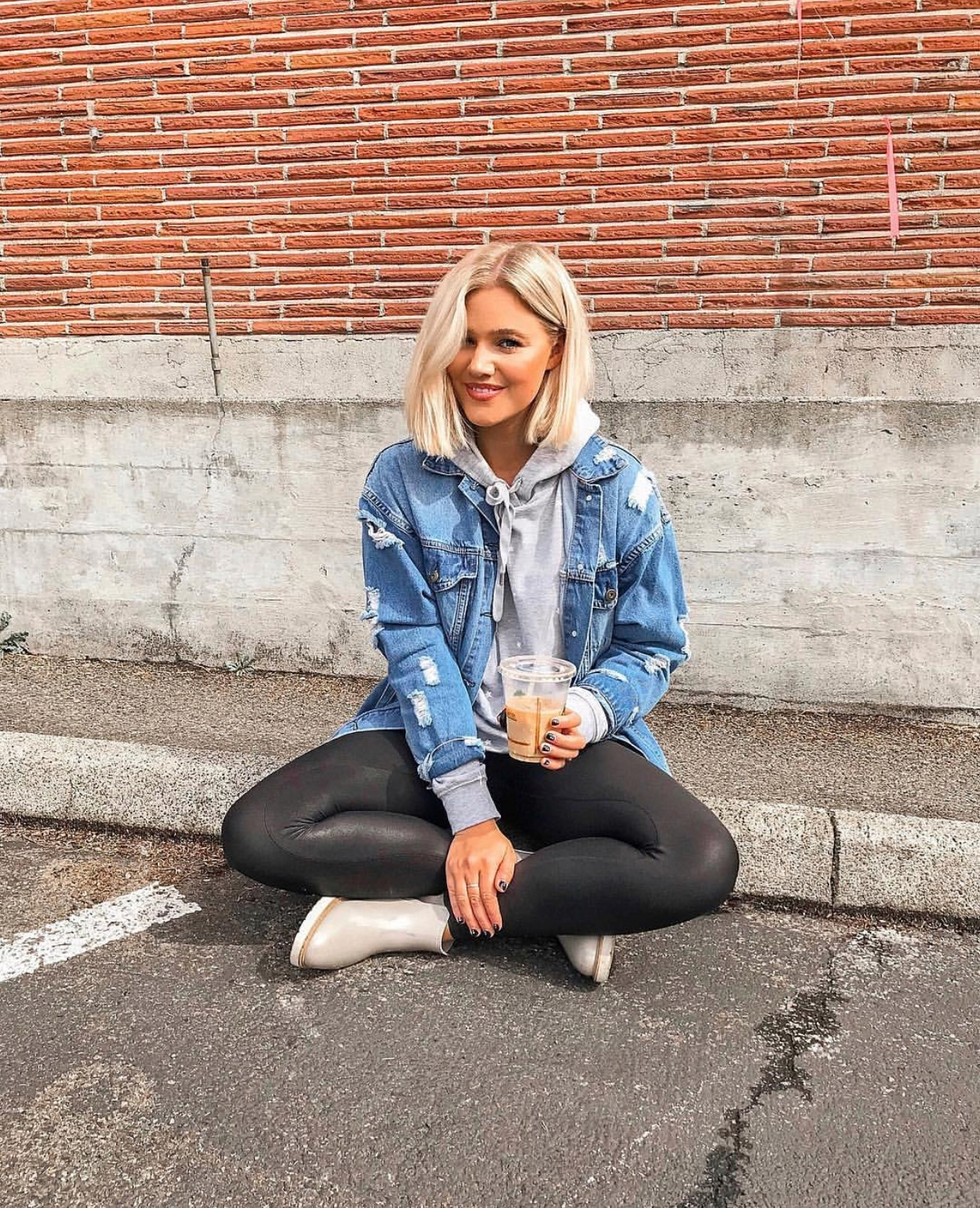 My Holy Grail Fall Staple - Spanx Leather Leggings : bresheppard.com : casual with denim jacket .PNG
