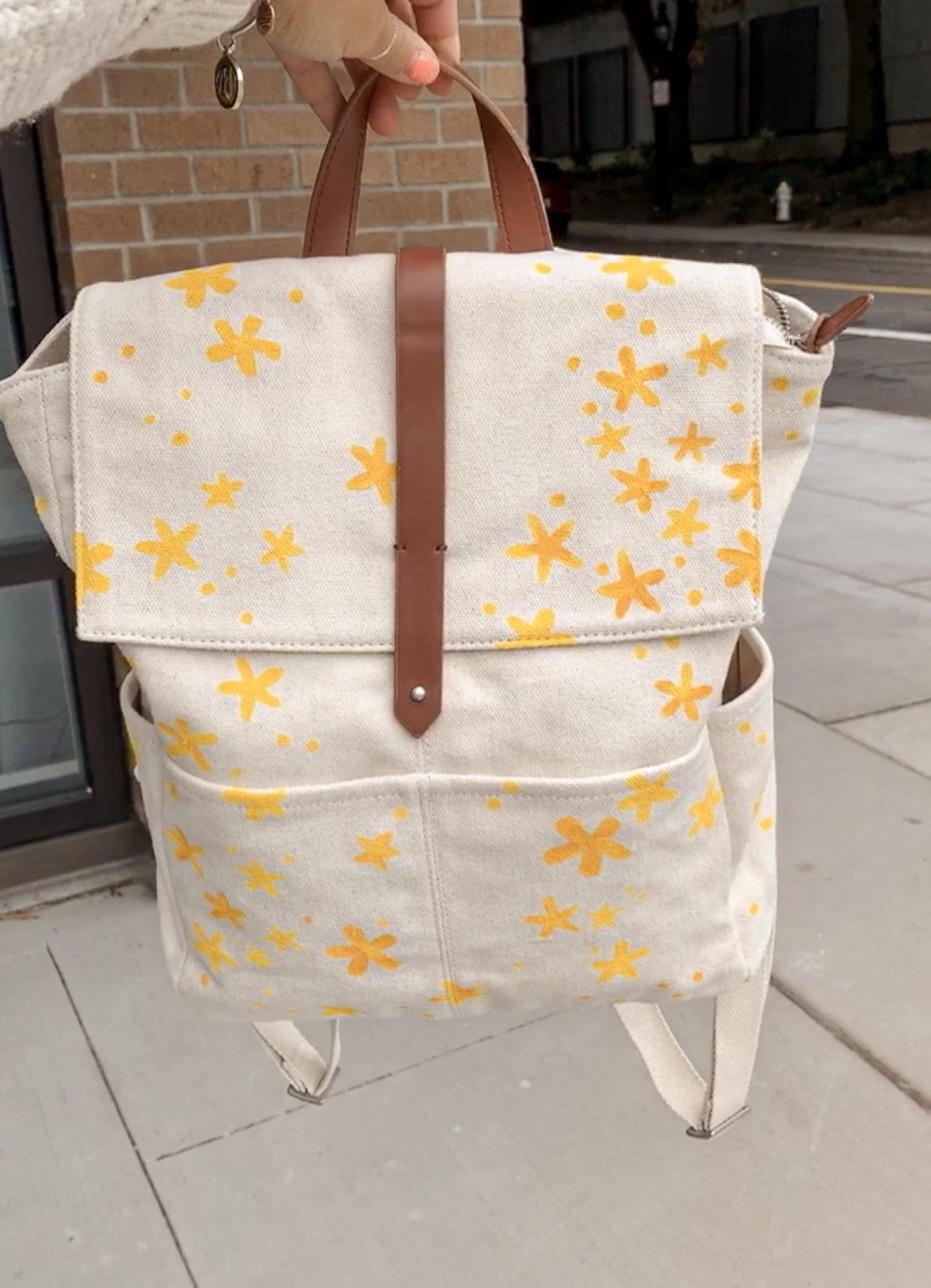 Three Easy Ways To Update Your Wardrobe - DIY Backpack