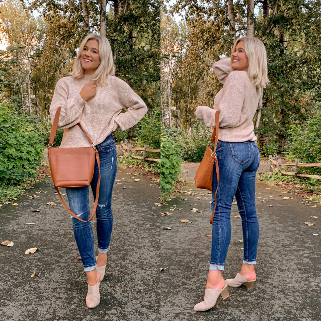 Bre Sheppard Old Navy Denim Refresh - Fall Style
