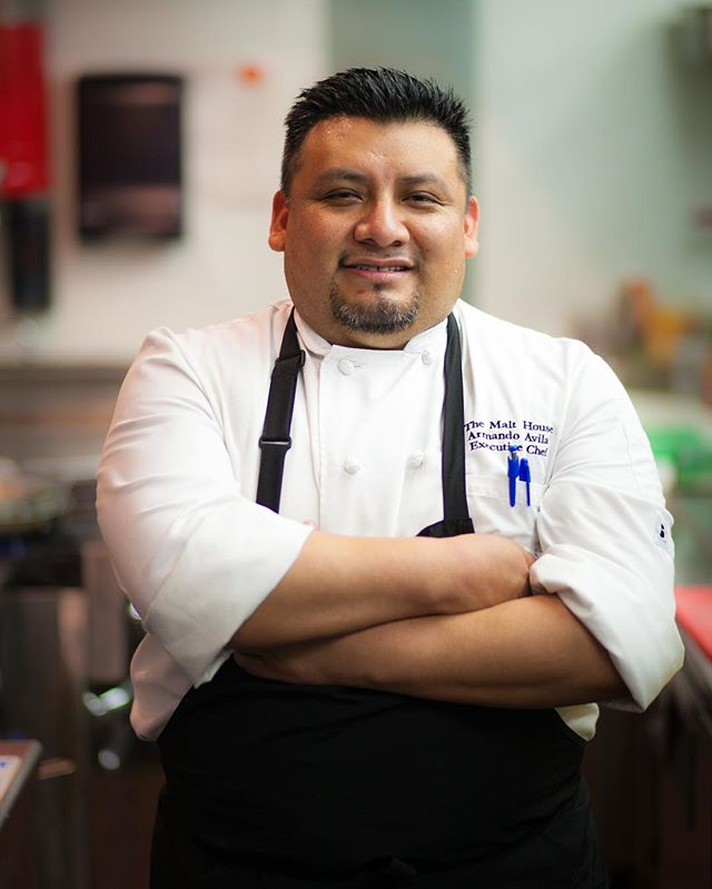 """I began by washing dishes and worked my way up. I was hungry to learn knife skills, memorize different cuts, and challenge myself to learn how to cook."" Today, Chef Armando Avila @armis162 has opened 25 restaurants in cities all over the world as an executive chef!🍴🌎"