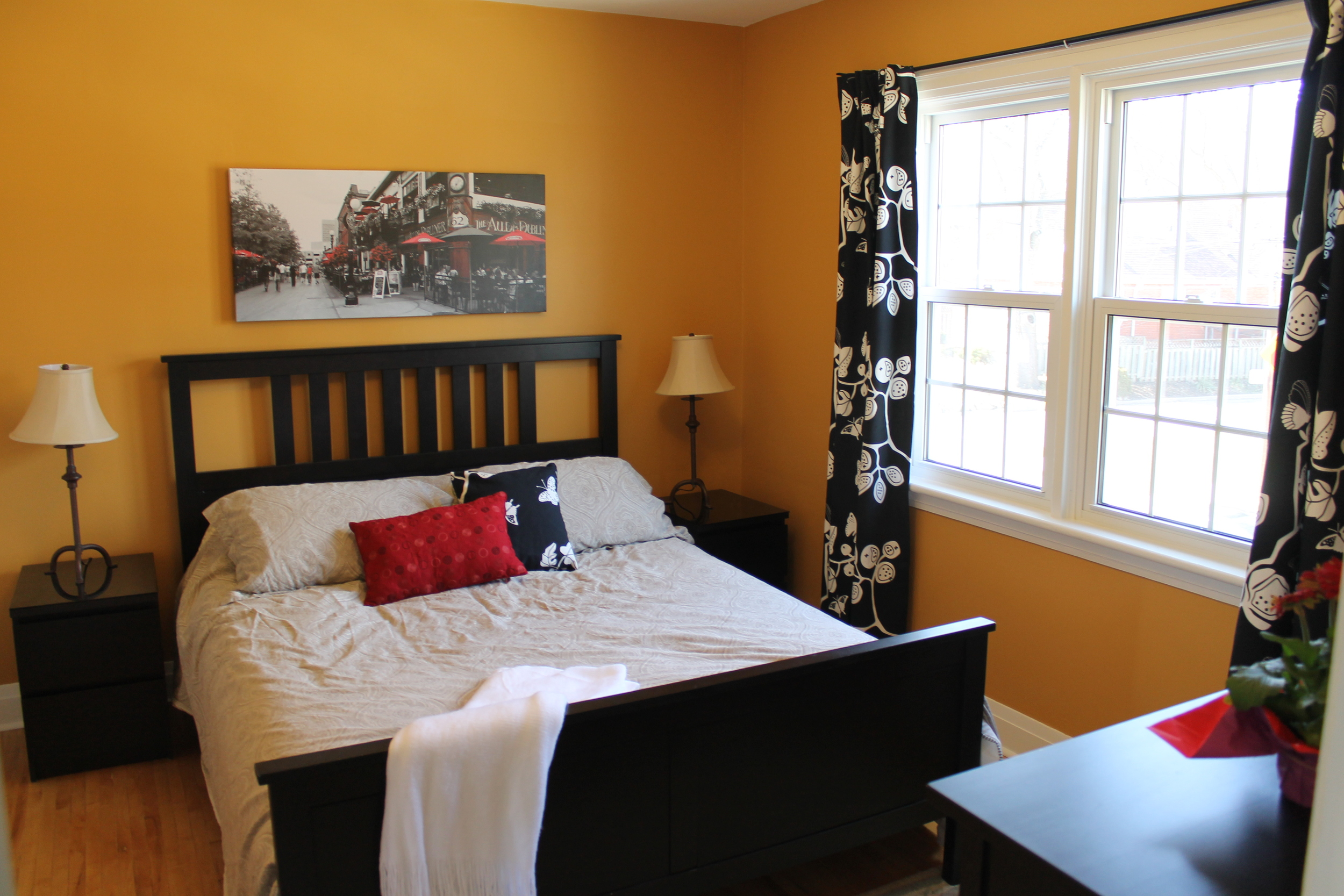 Four elegant Bedrooms. The fourth Bedroom can also set up as an Office.