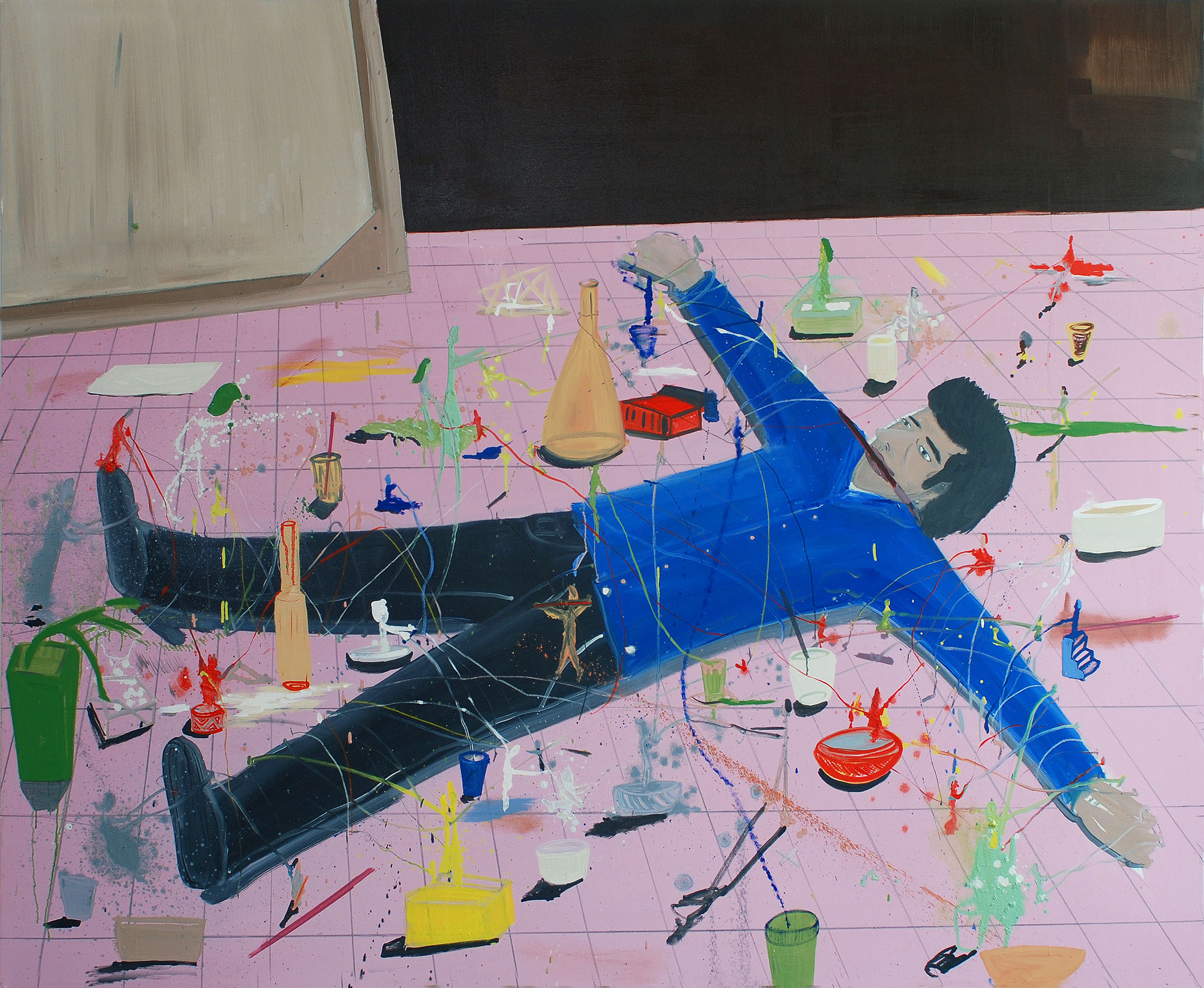 Gulliver, 2009    Oil on canvas, 197x212 cm
