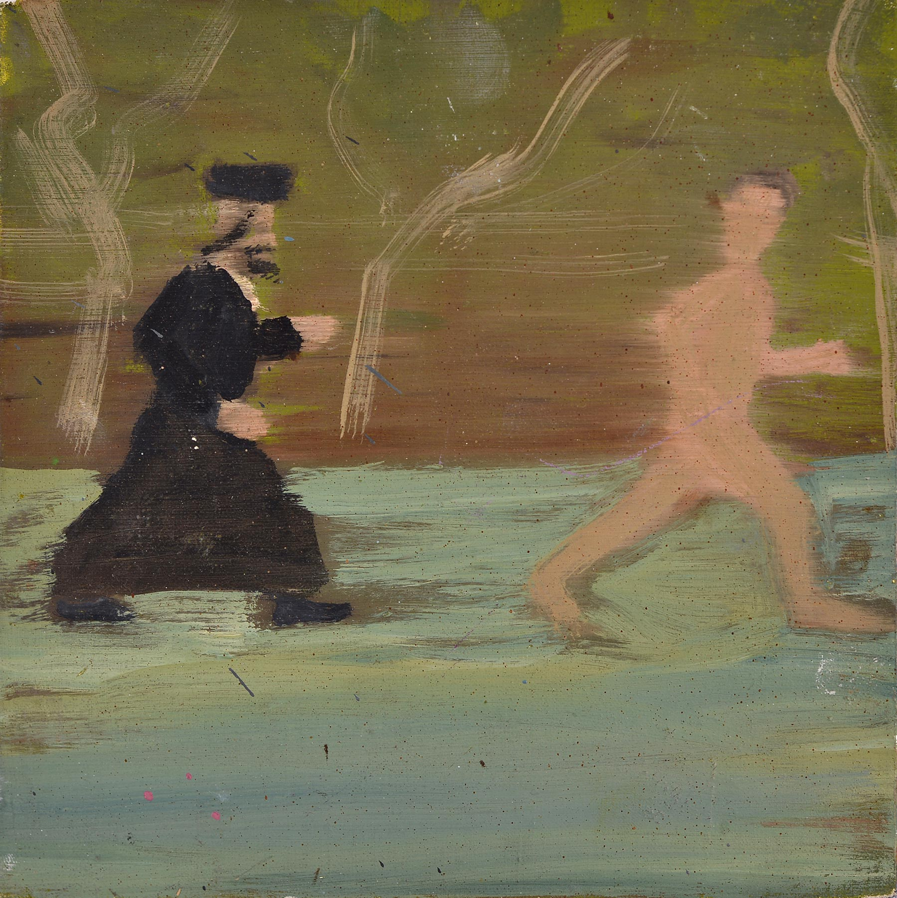 Chase, 2006    Oil on canvas, 20x20 cm